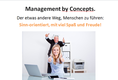Management by Concepts