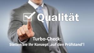 Konzepte erstellen Qualitätscheck für ein Konzept